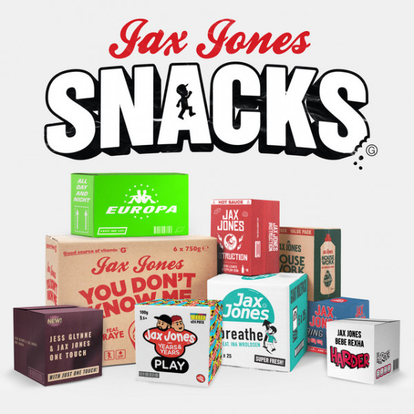 Jax Jones - Harder (with Bebe Rexha)
