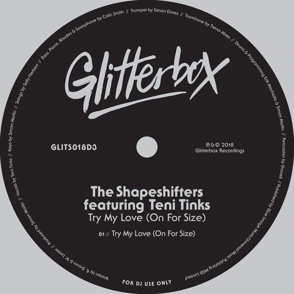 The Shapeshifters featuring Teni Tinks - Try My Love