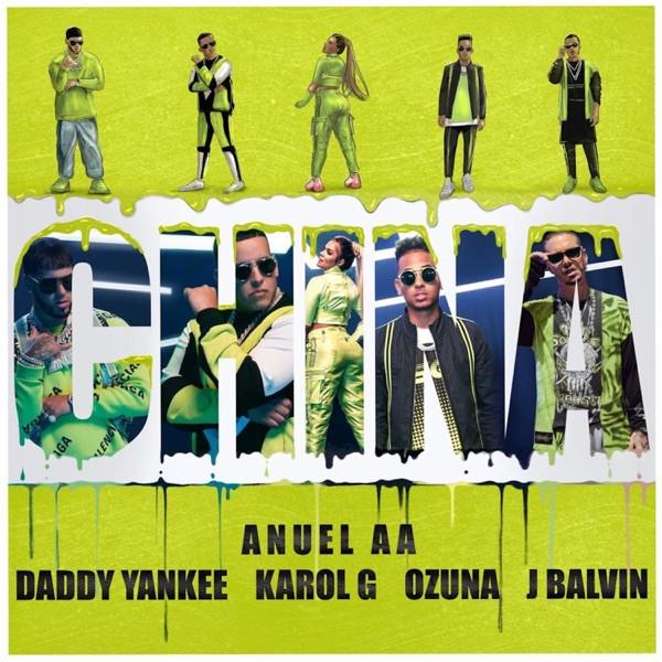 Anuel AA feat. Daddy Yankee, Karol G, Ozuna, J Balvin - China