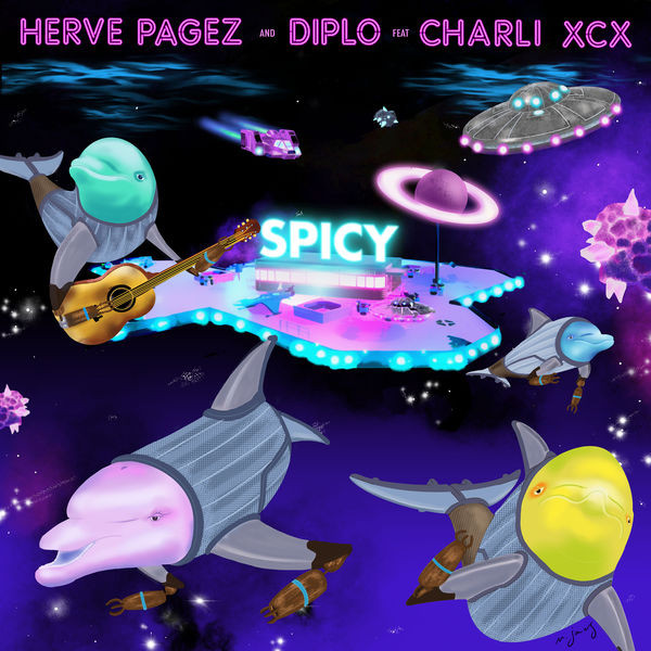 Herve Pagez and Diplo feat. Charli XCX - Spicy