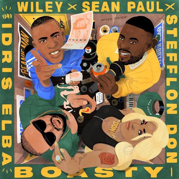 Wiley - Boasty Remix feat Stefflon Don Sean Paul