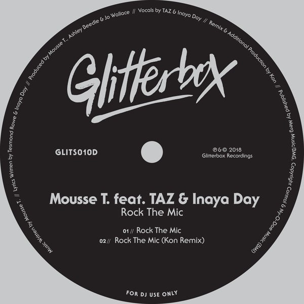Mousse T feat. TAZ & Inaya Day - Rock The Mic