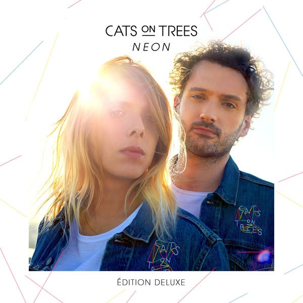 CATS ON TREES - Blue